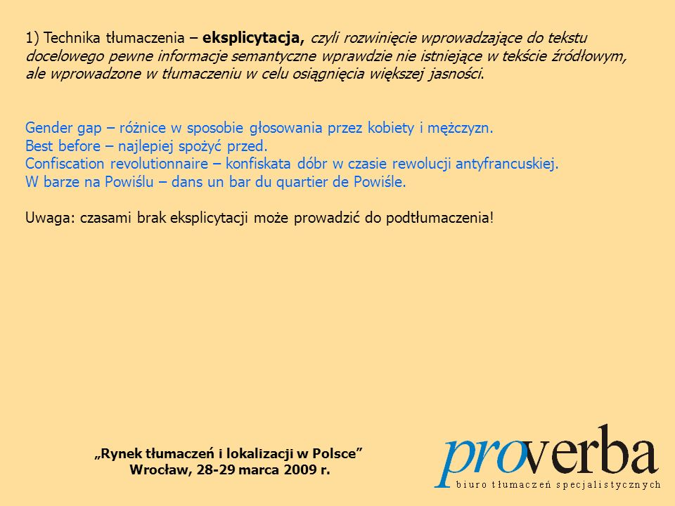 """""""Rynek tłumaczeń i lokalizacji w Polsce"""