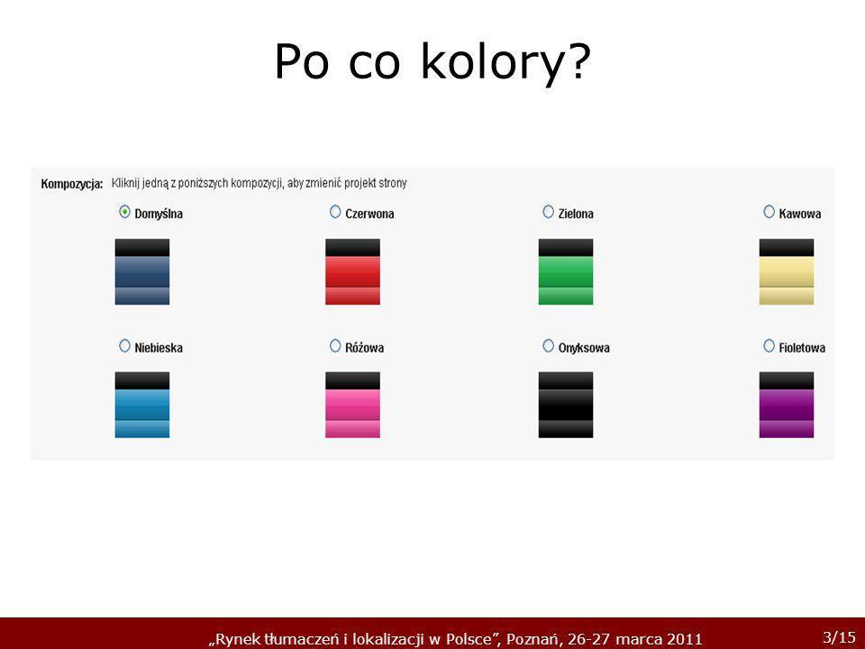 Po co kolory