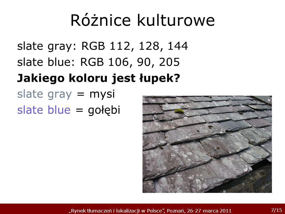 Różnice kulturowe slate gray: RGB 112, 128, 144