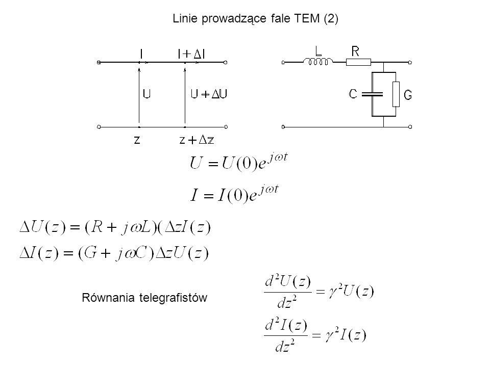 Linie prowadzące fale TEM (2)