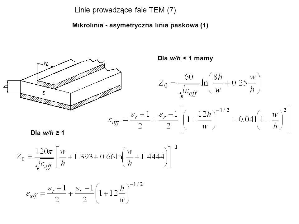 Linie prowadzące fale TEM (7)