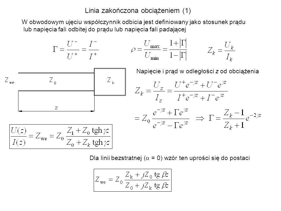 Linia zakończona obciążeniem (1)