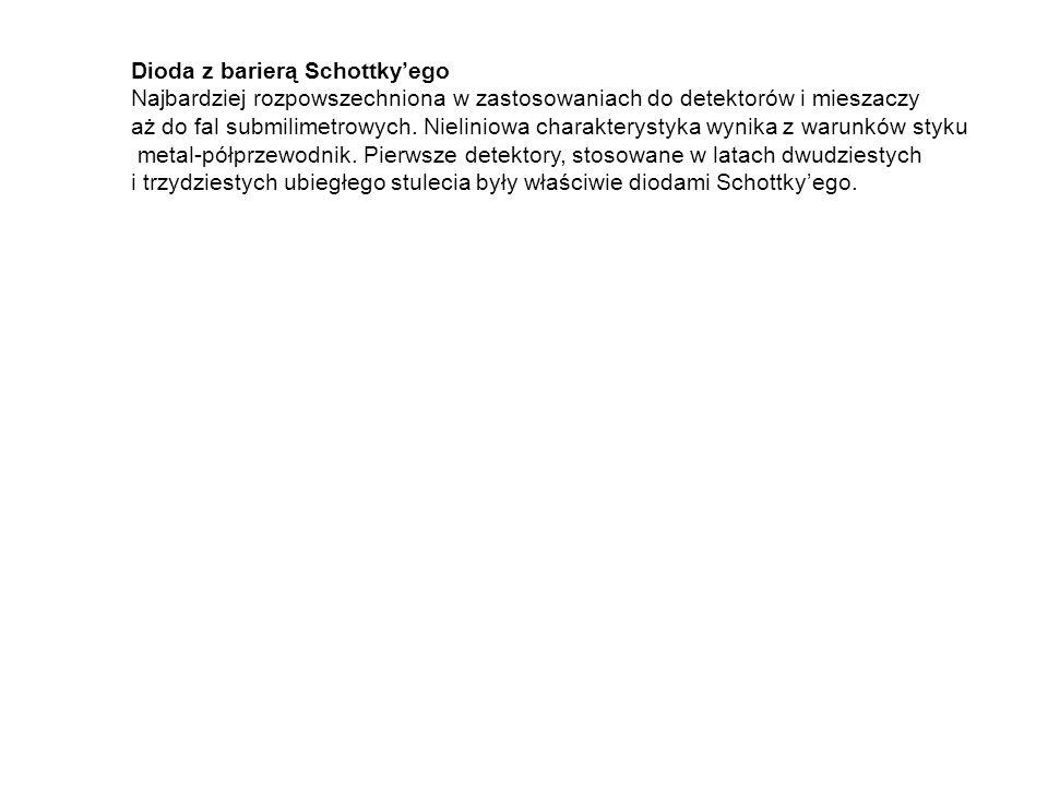 Dioda z barierą Schottky'ego