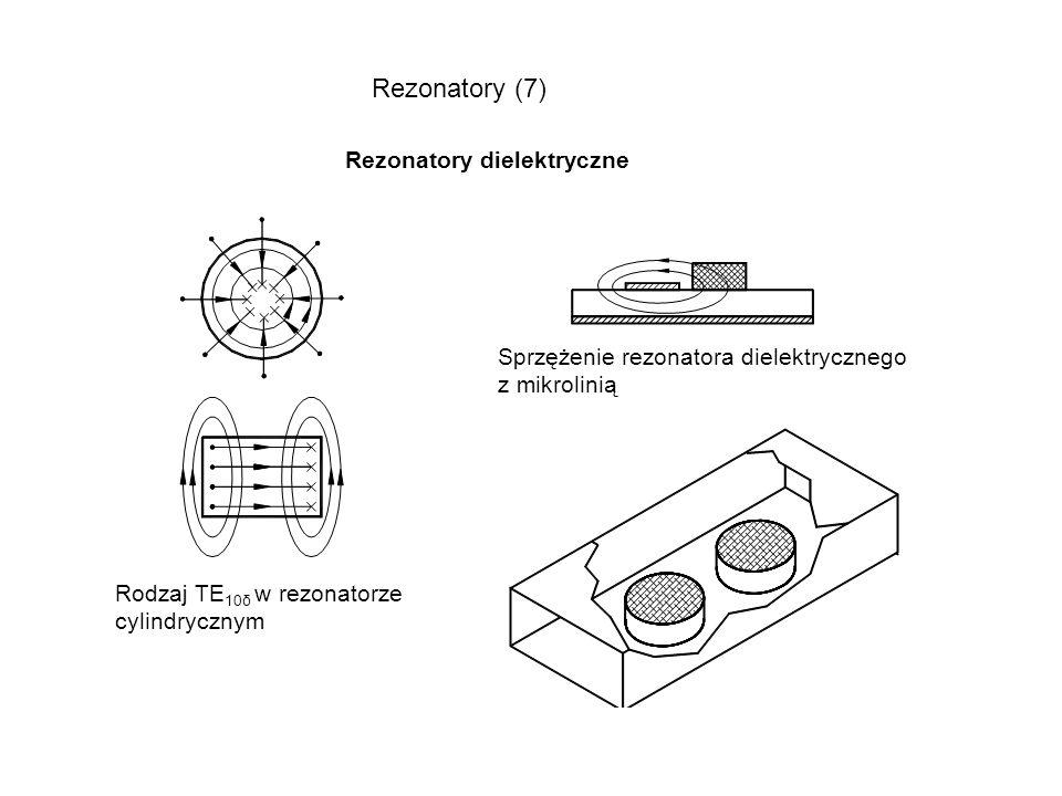 Rezonatory (7) Rezonatory dielektryczne