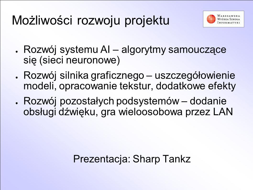 Możliwości rozwoju projektu