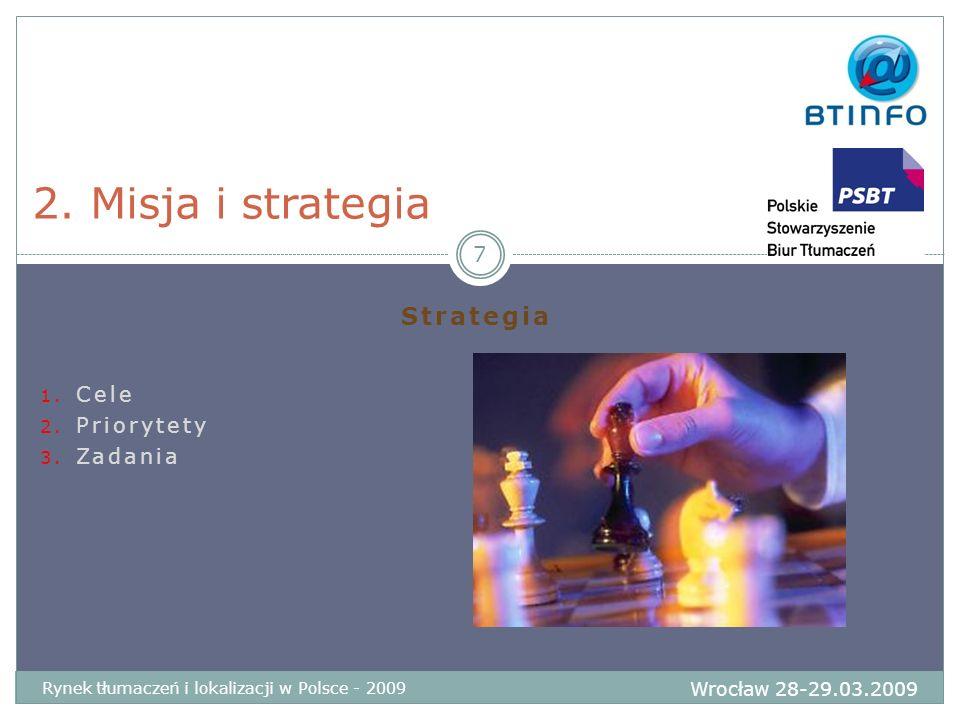 Strategia Cele Priorytety Zadania