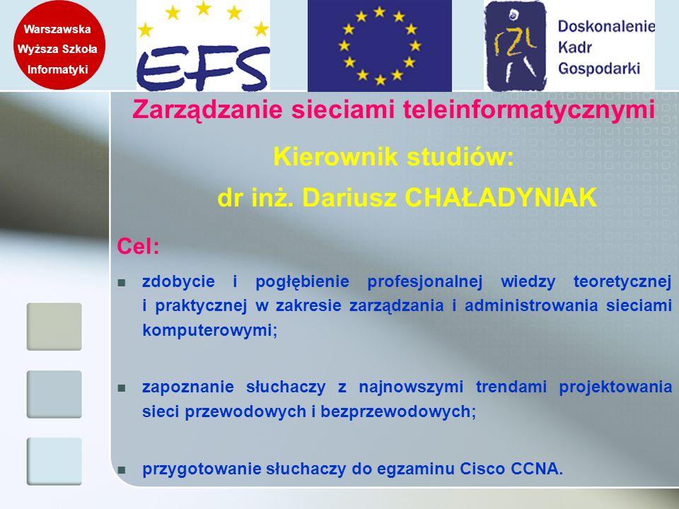 Zarządzanie sieciami teleinformatycznymi