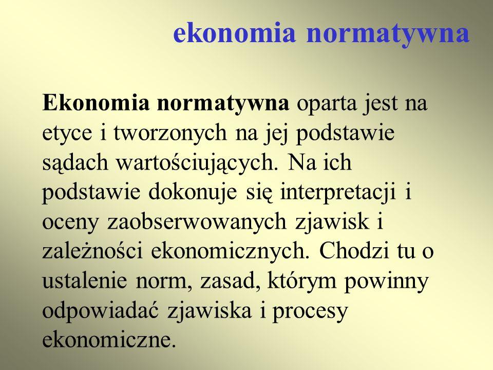 ekonomia normatywna