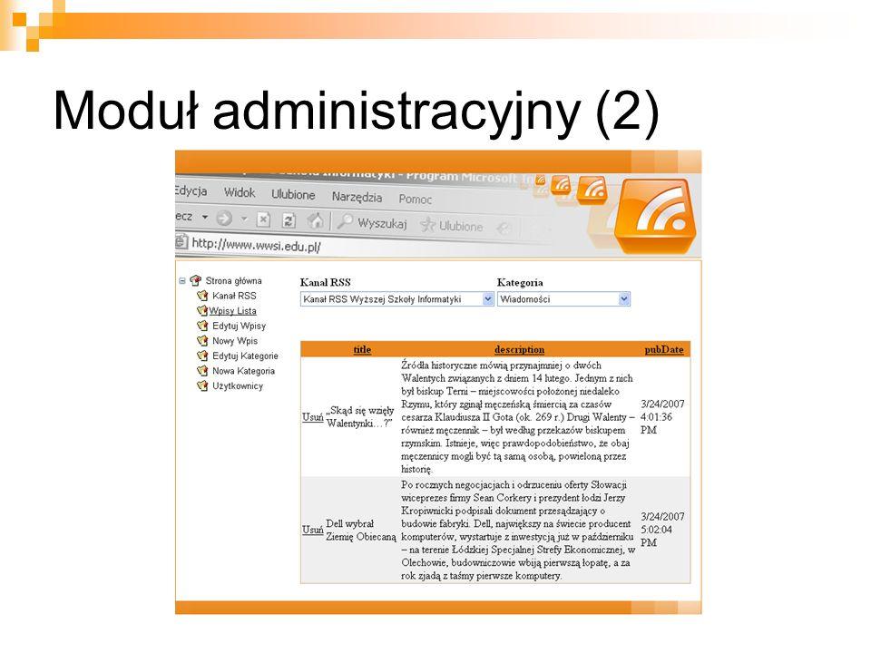 Moduł administracyjny (2)