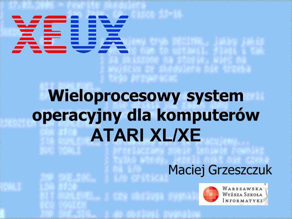 Wieloprocesowy system operacyjny dla komputerów ATARI XL/XE