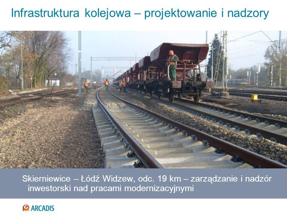 Infrastruktura kolejowa – projektowanie i nadzory