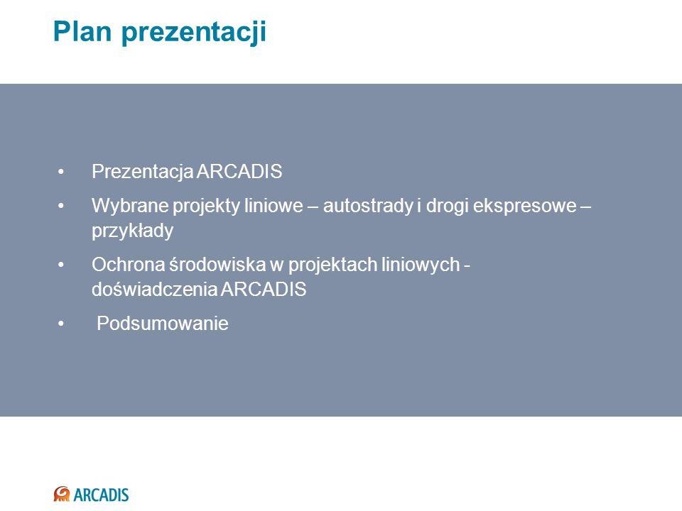Plan prezentacji Prezentacja ARCADIS