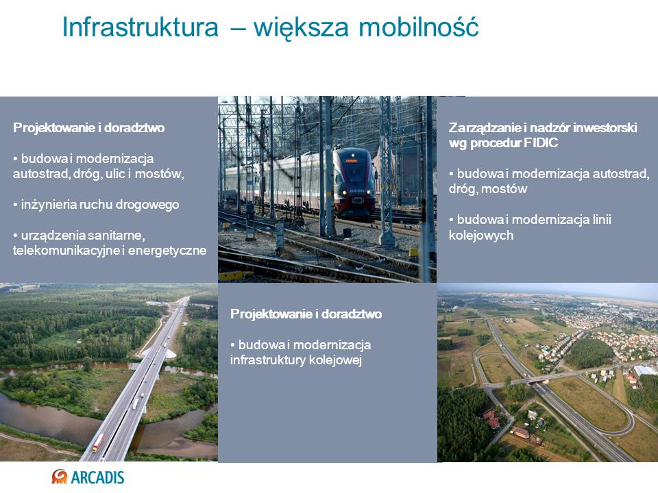 Infrastruktura – większa mobilność