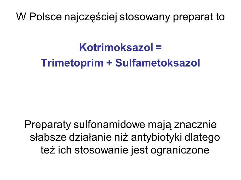 Trimetoprim + Sulfametoksazol