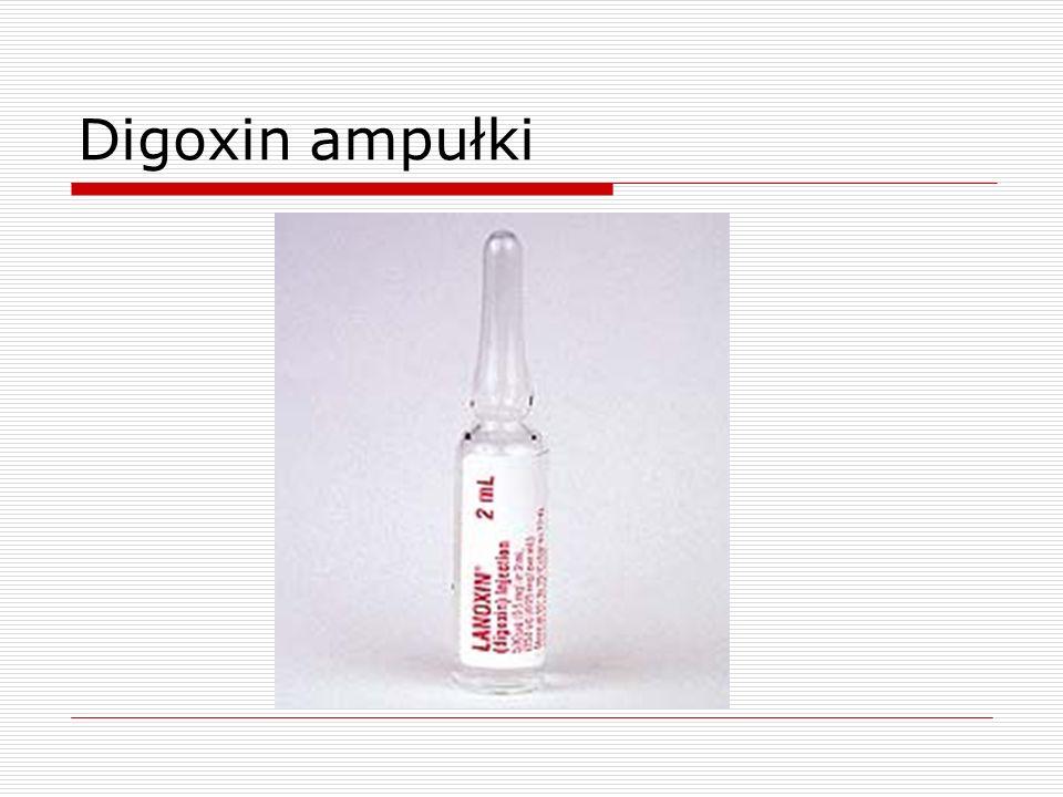 Digoxin ampułki