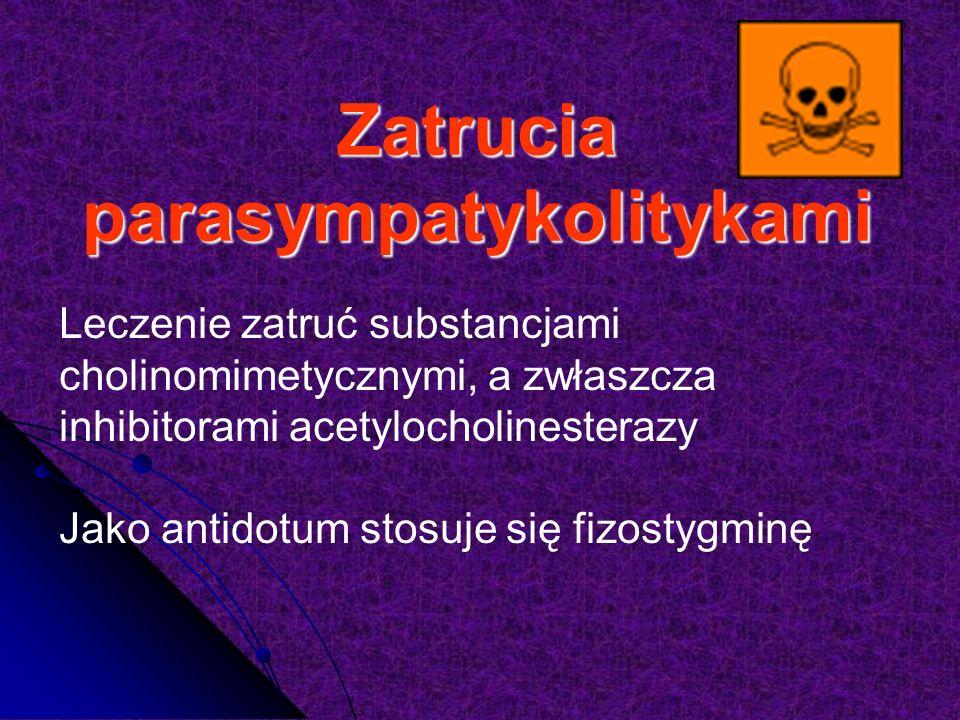 Zatrucia parasympatykolitykami
