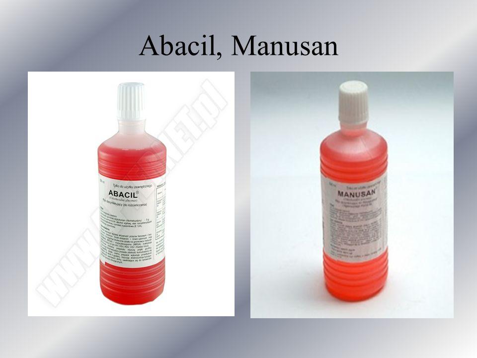 Abacil, Manusan
