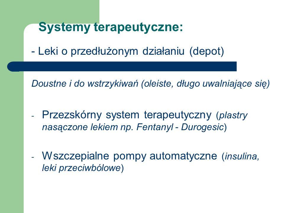 Systemy terapeutyczne: