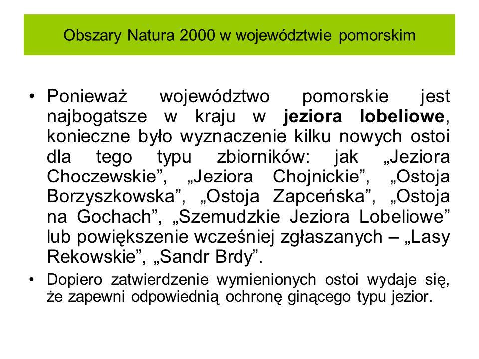 Obszary Natura 2000 w województwie pomorskim