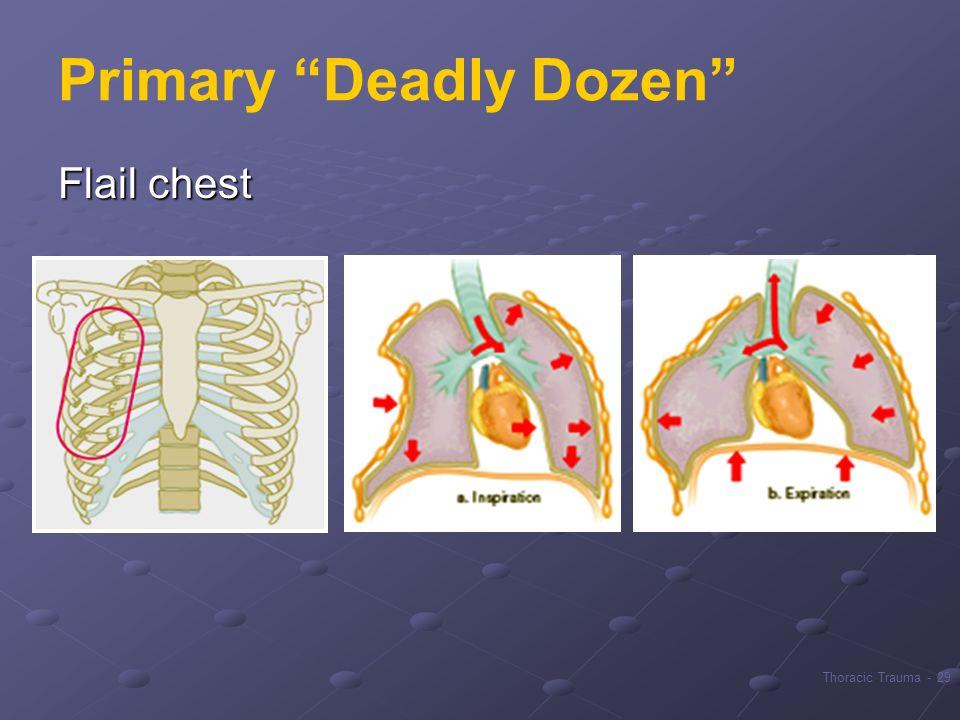 Primary Deadly Dozen
