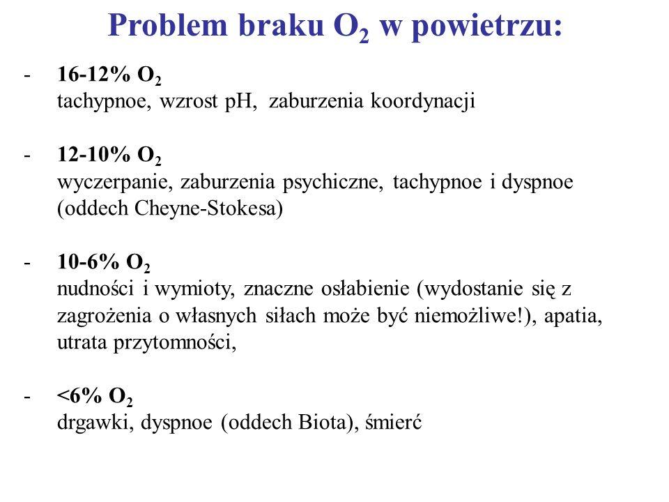 Problem braku O2 w powietrzu: