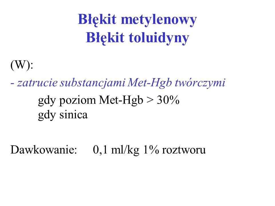 Błękit metylenowy Błękit toluidyny