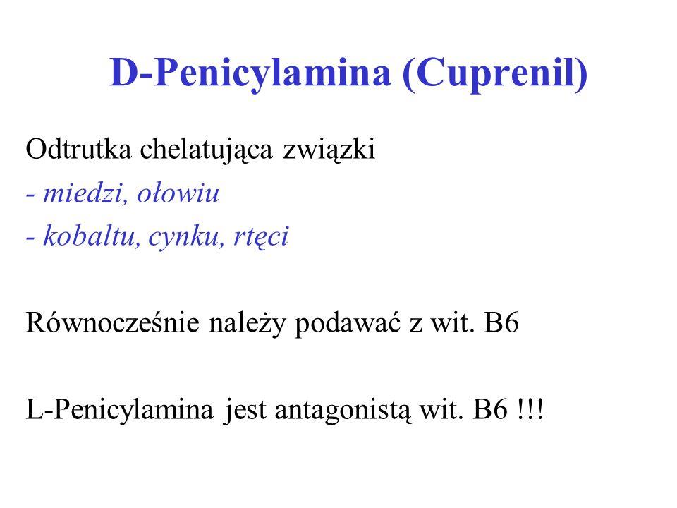 D-Penicylamina (Cuprenil)