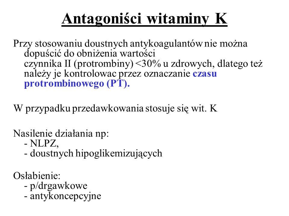 Antagoniści witaminy K
