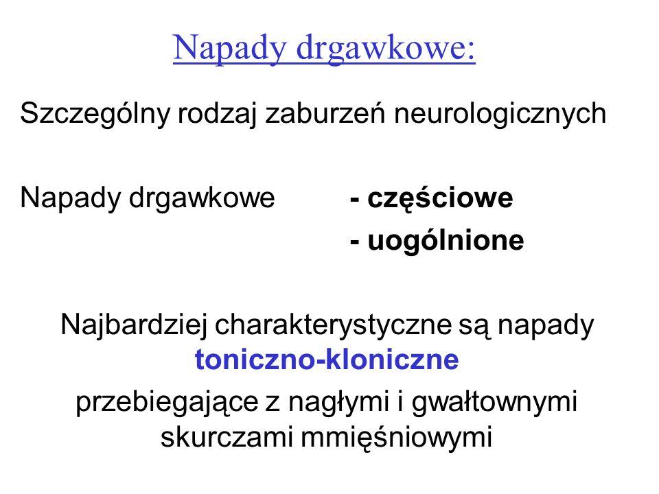 Napady drgawkowe: Szczególny rodzaj zaburzeń neurologicznych