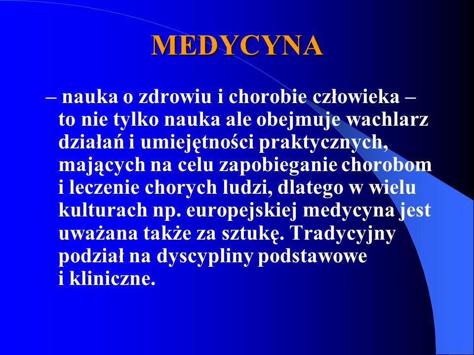 MEDYCYNA