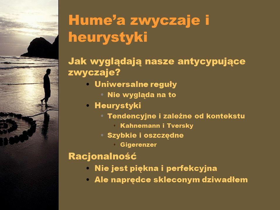 Hume'a zwyczaje i heurystyki