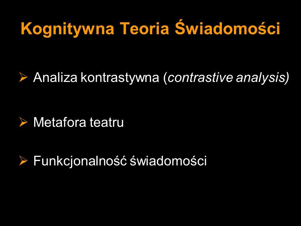 Kognitywna Teoria Świadomości