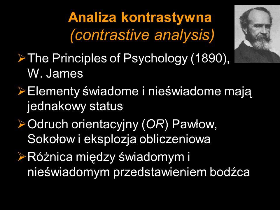 Analiza kontrastywna (contrastive analysis)