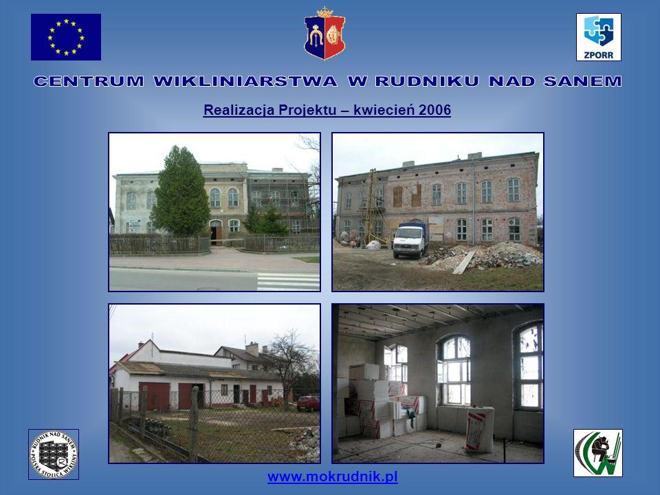 Realizacja Projektu – kwiecień 2006