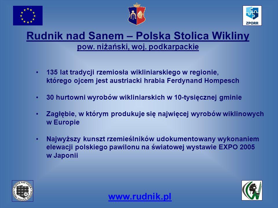 Rudnik nad Sanem – Polska Stolica Wikliny pow. niżański, woj