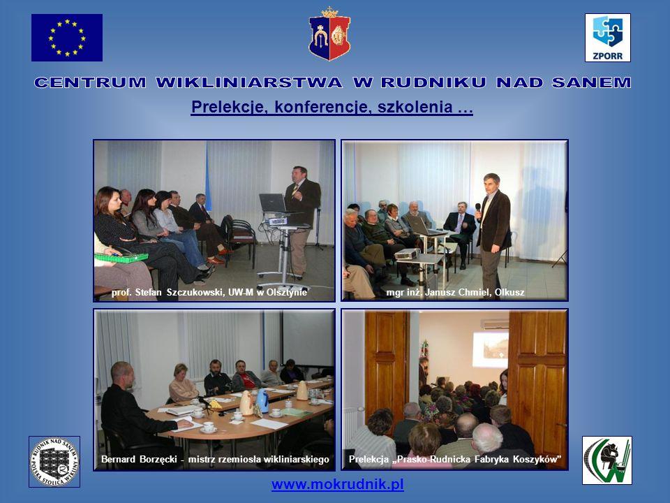Prelekcje, konferencje, szkolenia … mgr inż. Janusz Chmiel, Olkusz