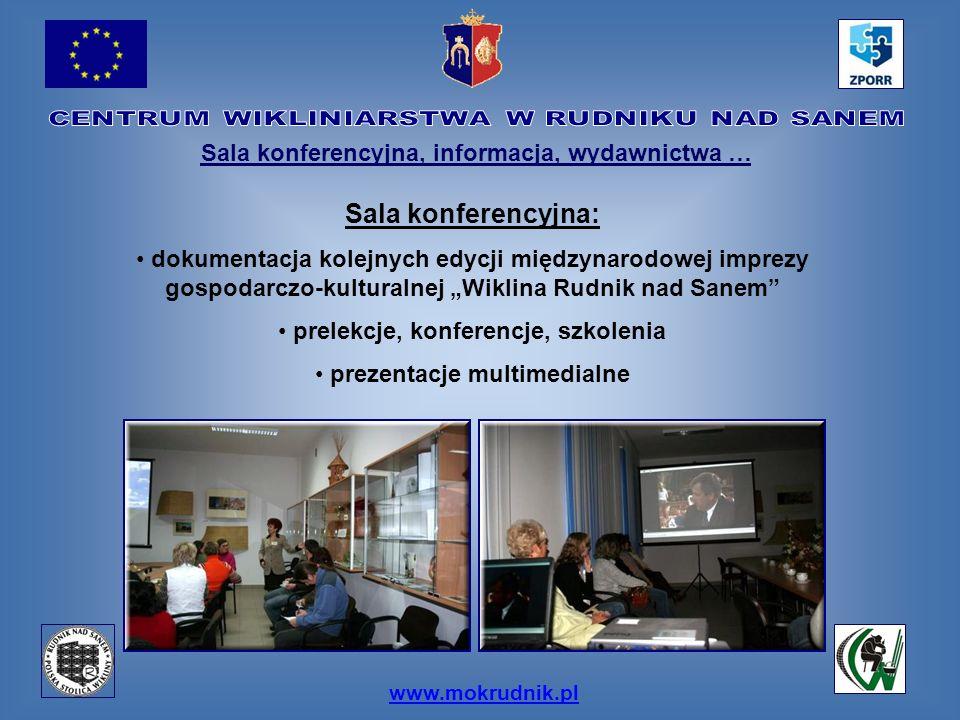 Sala konferencyjna: Sala konferencyjna, informacja, wydawnictwa …