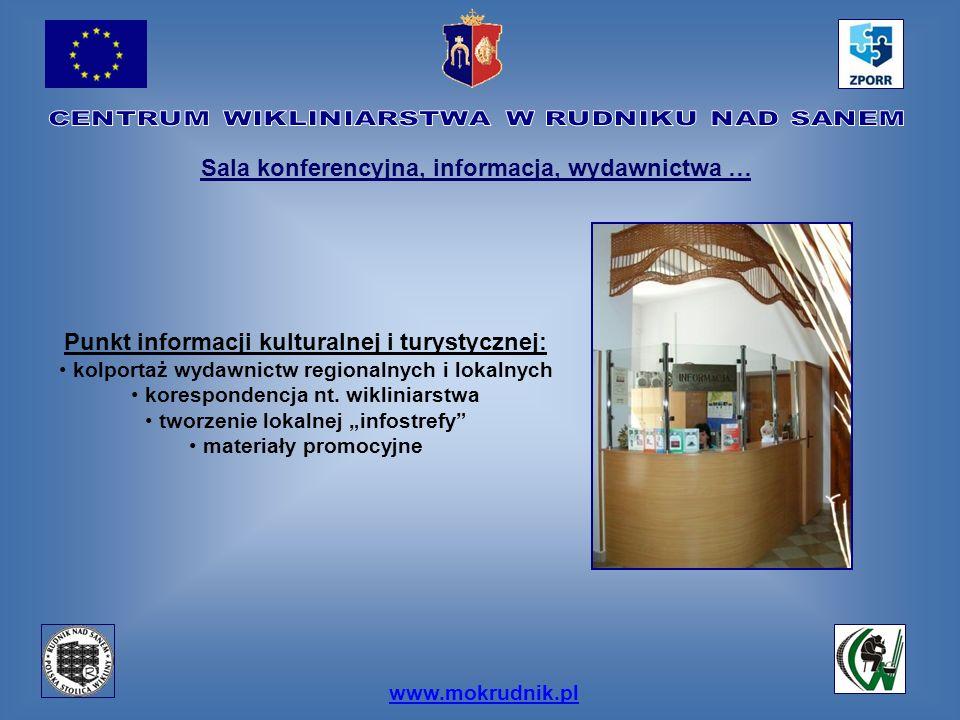 Sala konferencyjna, informacja, wydawnictwa …