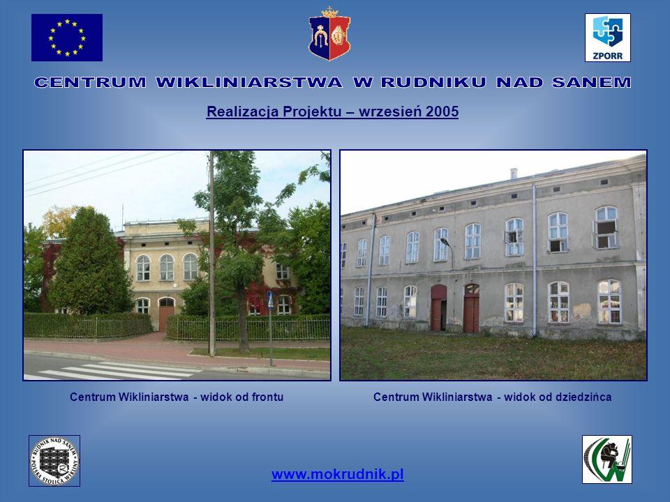 Realizacja Projektu – wrzesień 2005 www.mokrudnik.pl
