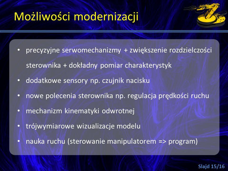 Możliwości modernizacji