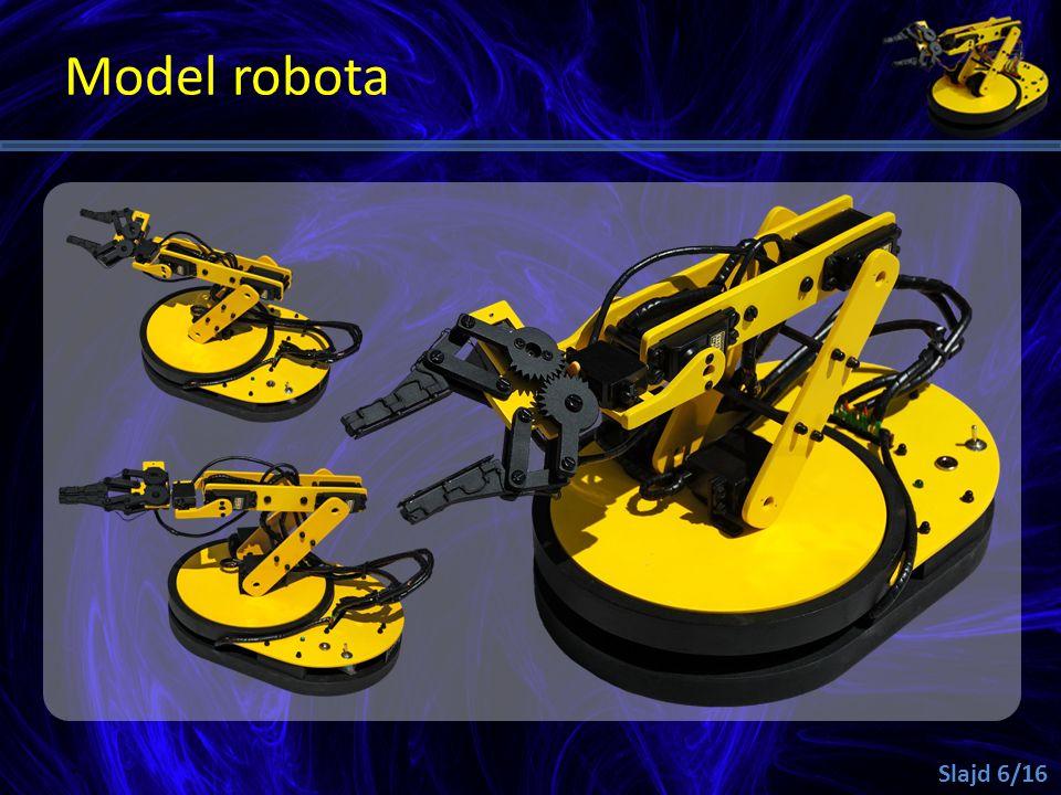 Model robota Slajd 6/16