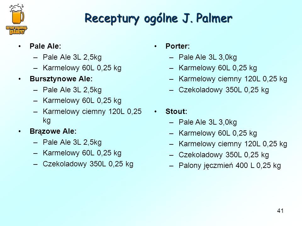 Receptury ogólne J. Palmer