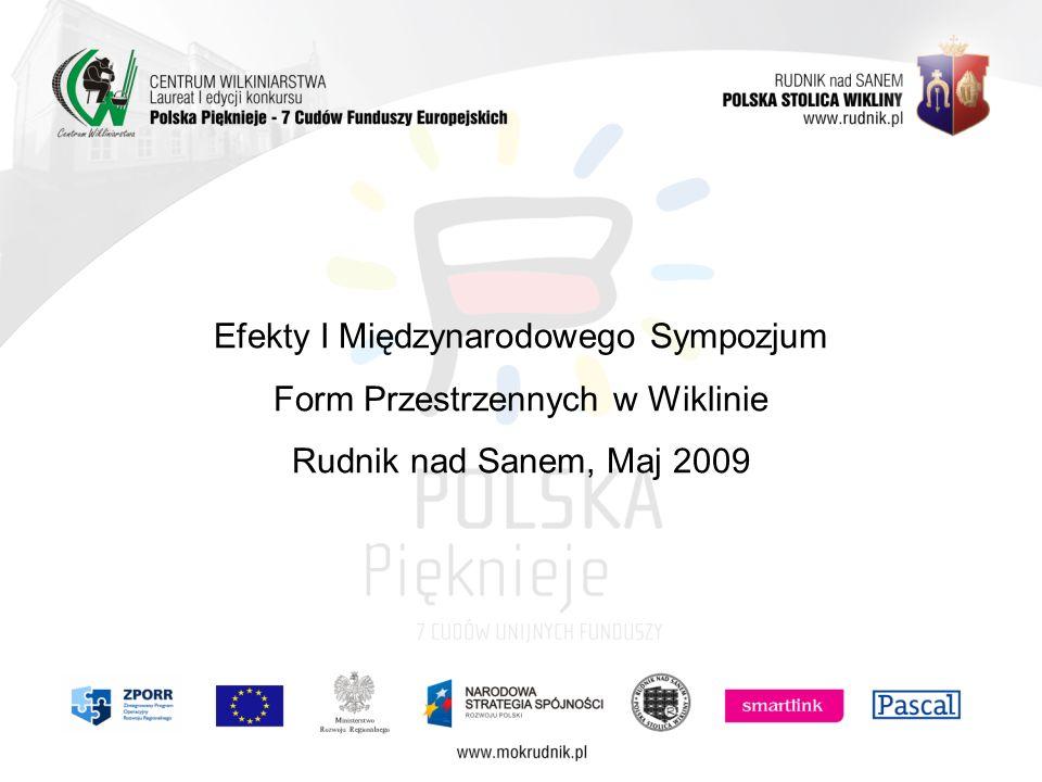 Efekty I Międzynarodowego Sympozjum Form Przestrzennych w Wiklinie