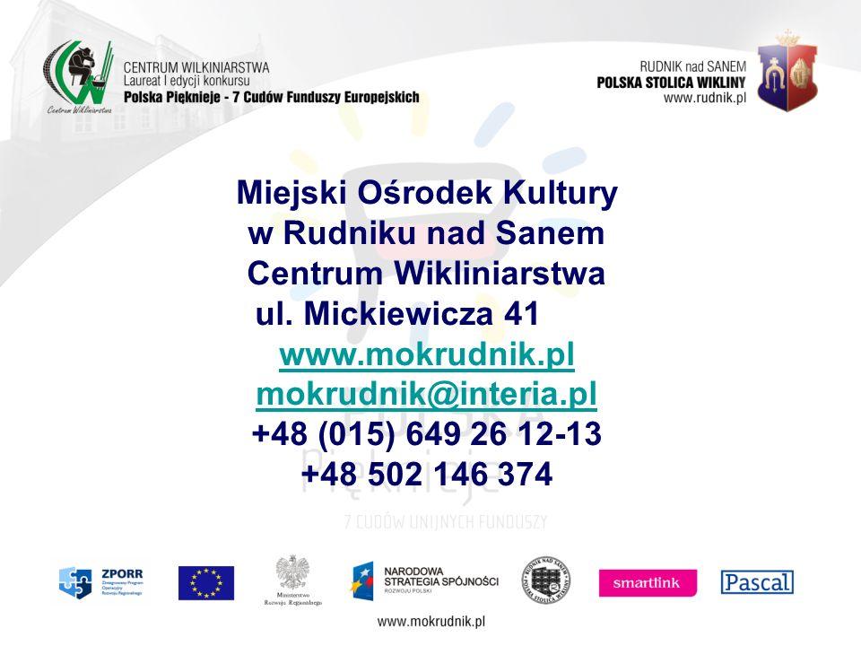 Miejski Ośrodek Kultury w Rudniku nad Sanem