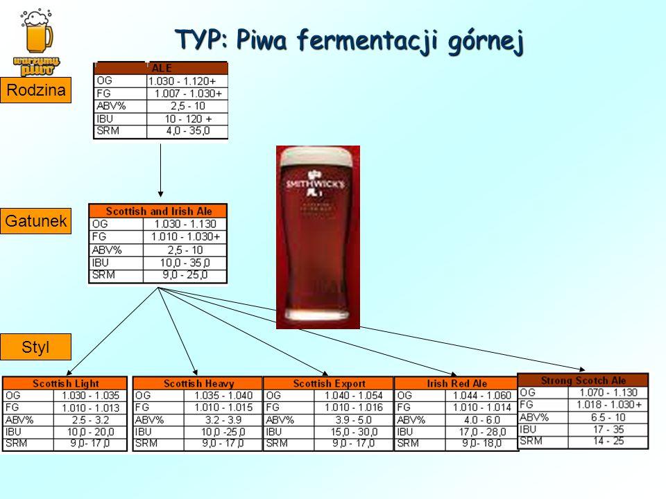 TYP: Piwa fermentacji górnej