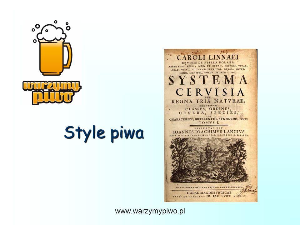 Style piwa www.warzymypiwo.pl