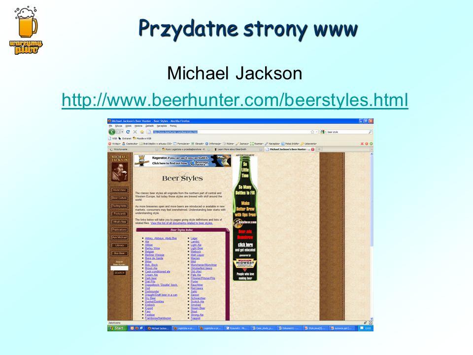 Michael Jackson http://www.beerhunter.com/beerstyles.html