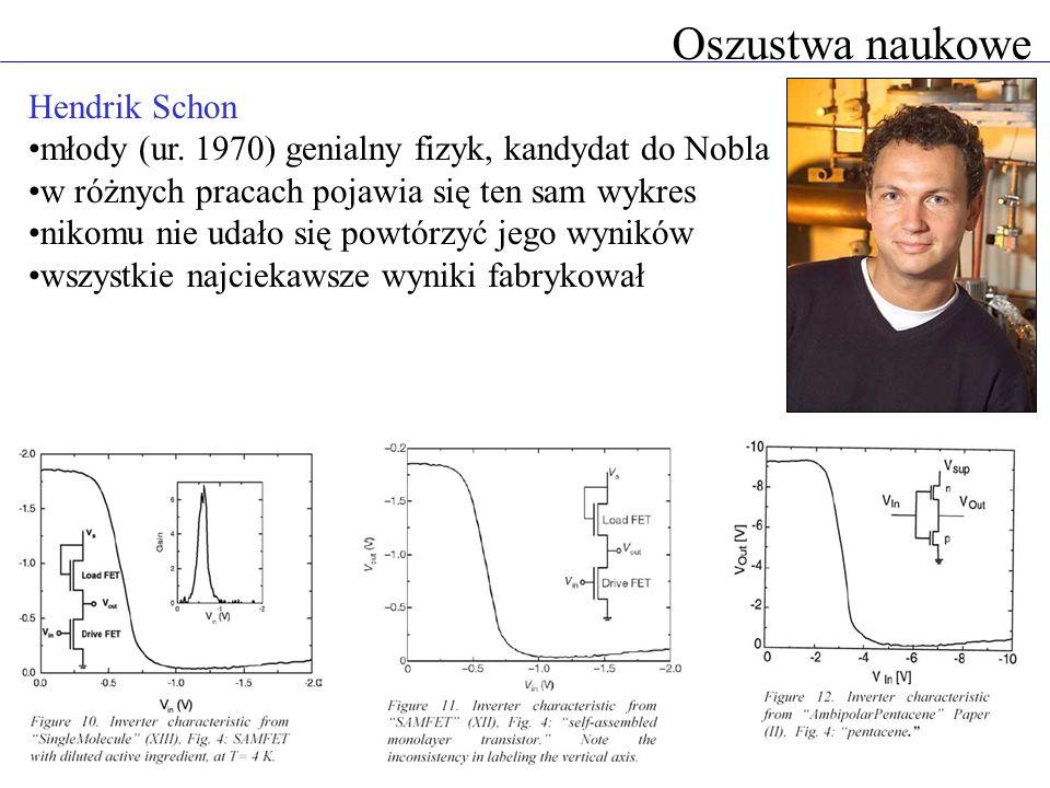Oszustwa naukowe Hendrik Schon