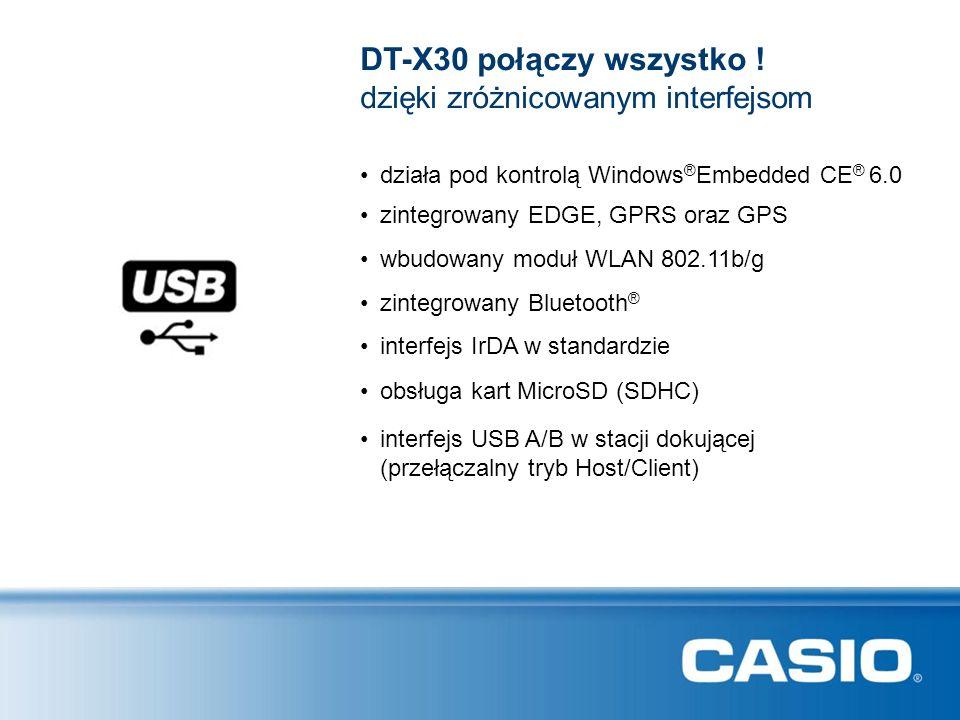 DT-X30 połączy wszystko ! dzięki zróżnicowanym interfejsom