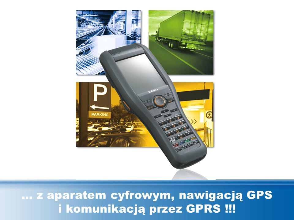 … z aparatem cyfrowym, nawigacją GPS i komunikacją przez GPRS !!!
